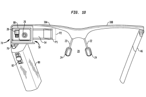 Google Glass Patent Drawing
